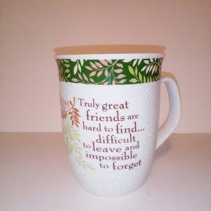 History & Heraldry friendship coffee mug
